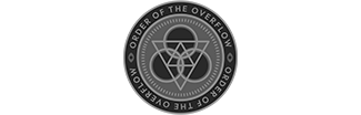 Order of the Overflow CTF Team Logo in Greyscale